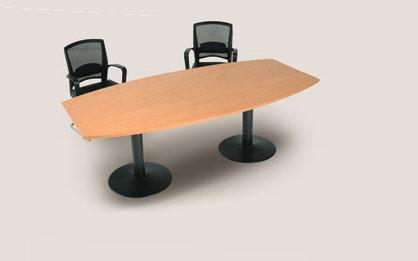 Kancelářský nábytek Vlabo Office - konferenční stoly na centrálních nohách